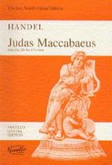 Judas Maccabaeus HWV 63 HAENDEL Partition Chœur - laflutedepan