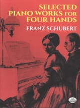 SCHUBERT - Selected Piano Works. 4 Hands - Sheet Music - di-arezzo.com