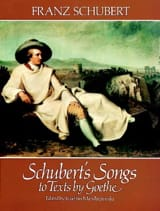 SCHUBERT - Lieder About Goethe Texts - Sheet Music - di-arezzo.co.uk