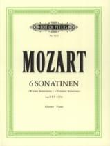 6 Sonatines Viennoises - MOZART - Partition - Piano - laflutedepan.com