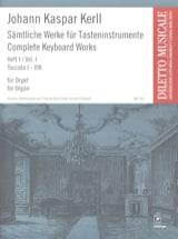 Oeuvres Complètes Volume 1 - Johann Kaspar Kerll - laflutedepan.com