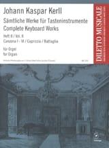 Johann Kaspar Kerll - Oeuvres Complètes Volume 2 - Partition - di-arezzo.fr