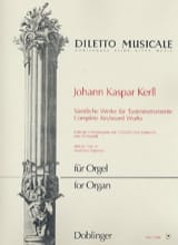 Oeuvres Complètes Volume 4 - Johann Kaspar Kerll - laflutedepan.com