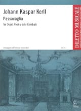 Johann Kaspar Kerll - Passacaglia - Partition - di-arezzo.fr