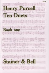 Henry Purcell - 10 Duets Volume 1 - Partition - di-arezzo.fr