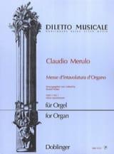 Messe D'intavolatura D'organo Volume 1 Claudio Merulo laflutedepan.com