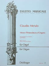 Claudio Merulo - Mass of organ intavolatura Volume 2 - Sheet Music - di-arezzo.com