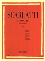 Domenico Scarlatti - 25 Sonates - Partition - di-arezzo.fr