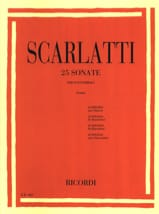 25 Sonates SCARLATTI Partition Clavecin - laflutedepan
