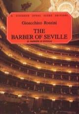 Gioachino Rossini - Il Barbiere Di Siviglia - Partition - di-arezzo.fr