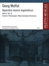 Apparatus Musico-Organisticus Volume 4 Georg Muffat laflutedepan.com