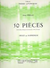 50 Pièces Henri Nibelle Partition Orgue - laflutedepan.com
