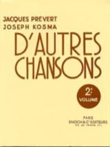 Joseph Kosma - Other Songs Volume 2 - Sheet Music - di-arezzo.com