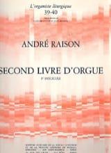 Second Livre D'orgue Volume 1 André Raison Partition laflutedepan.com