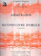 Second Livre D'orgue Volume 2 André Raison Partition laflutedepan.com