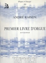 André Raison - 1er Livre D'orgue Volume 3 - Partition - di-arezzo.fr