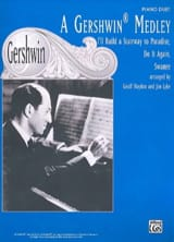 Georges Gershwin - A Gershwin Medley. 4 Mains - Partition - di-arezzo.fr