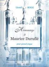 Lionel Rogg - Hommage A Duruflé - Partition - di-arezzo.fr