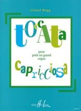 Lionel Rogg - Toccata Capricciosa - Partition - di-arezzo.fr
