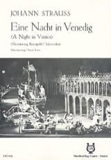 Ein Nacht In Venedig J. Strauss Partition Opéras - laflutedepan.com