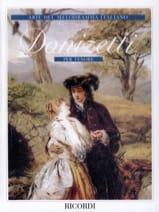 Gaetano Donizetti - Arie Del Mélodramma Italiano Per Tenore - Partition - di-arezzo.fr