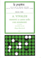 VIVALDI - Motetti A Solo Canto Con Stromenti Volume 2 - Sheet Music - di-arezzo.co.uk