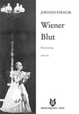Wiener Blut Johann Strauss Partition Opéras - laflutedepan.com