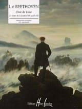 Clair De Lune BEETHOVEN Partition Piano - laflutedepan.com