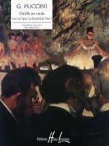 Ch'ella Mi Creda Giacomo Puccini Partition Piano - laflutedepan.com