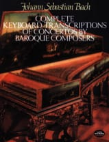 Transcriptions De Concertos Baroques BACH Partition laflutedepan.com