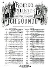 Charles Gounod - I want to live. Excerpt from Romeo and Juliet - Sheet Music - di-arezzo.co.uk
