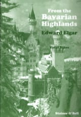 Edward Elgar - From The Bavarian Highland Opus 27 - Partition - di-arezzo.fr