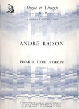 André Raison - 1er Livre D'orgue Volume 2 - Partition - di-arezzo.fr