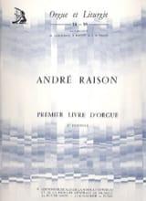 1er Livre D'orgue Volume 2 André Raison Partition laflutedepan.com