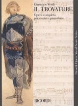 Il Trovatore. VERDI Partition Opéras - laflutedepan.com
