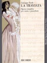 La Traviata VERDI Partition Opéras - laflutedepan.com