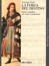 Giuseppe Verdi - La Forza Del Destino - Partition - di-arezzo.fr
