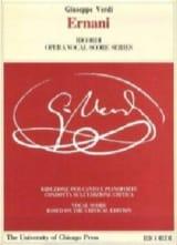 Giuseppe Verdi - Ernani - Partition - di-arezzo.fr