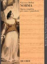 Norma Vincenzo Bellini Partition Opéras - laflutedepan.com
