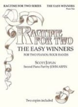 The Easy Winners. 2 Pianos Scott Joplin Partition laflutedepan.com