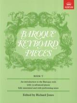 Baroque Keyboard Pieces Volume 5 Partition laflutedepan.com