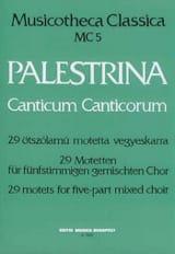 Canticum Canticorum Giovanni Pierluigi da Palestrina laflutedepan.com