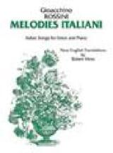Gioachino Rossini - Melodie Italiani - Sheet Music - di-arezzo.co.uk