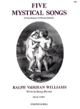 Williams Ralph Vaughan - 5 Mystical Songs - Partition - di-arezzo.fr
