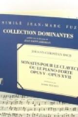 Sonates Op. 5 et 17 Johann Christian Bach Partition laflutedepan.com