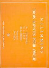 Sonate N° 3 Pascale Nicolas-Jacques Lemmens Partition laflutedepan