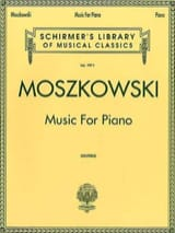 Music For Piano - Moritz Moszkowski - Partition - laflutedepan.com