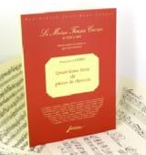 Pièces de Clavecin 4ème Livre - François Couperin - laflutedepan.com