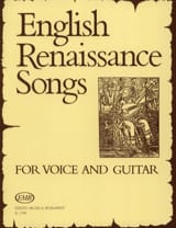 English Renaissance Songs - Partition - Guitare - laflutedepan.com