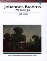 BRAHMS - 75 Songs. Aloud - Sheet Music - di-arezzo.com